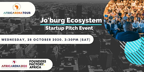 AfricArena Tour Johannesburg 2020 Event - Pitch & Panel tickets