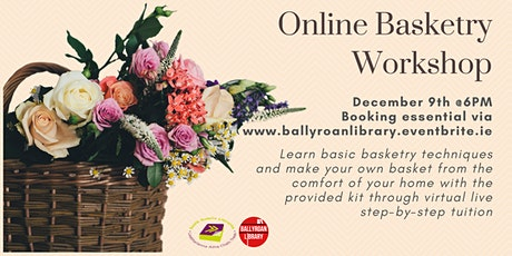 Online Basketry Workshop tickets
