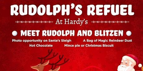 Rudolph's Refuel at Hardy's tickets