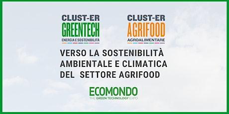 Verso la sostenibilità ambientale e climatica del settore agrifood biglietti