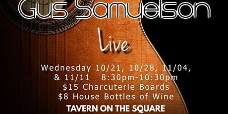 Live Music with Gus Samuelson tickets