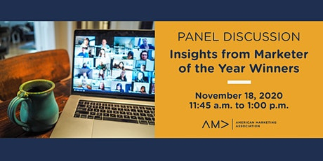 Insights From Marketer of the Year Winners tickets
