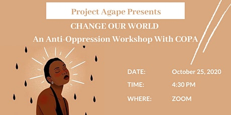 Anti-Opression workshop with COPA tickets