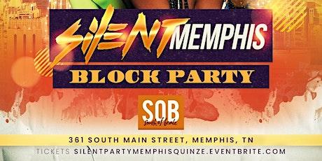 Silent Party Memphis - Block Party tickets