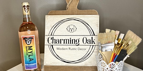 Charming Oak: Board & Paint Class tickets