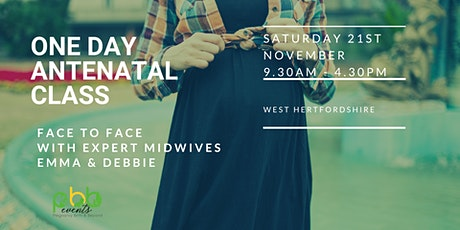 Face to face one day Antenatal Classes for Due dates in December/Jan