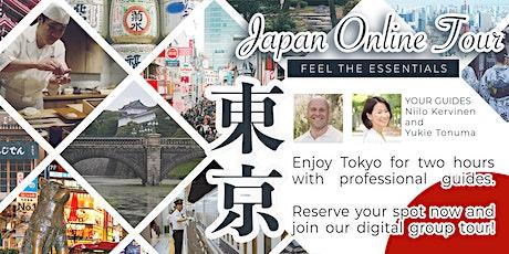 "Japan Online Tour - Get familiar with ""omoiyari"" in Tokyo tickets"