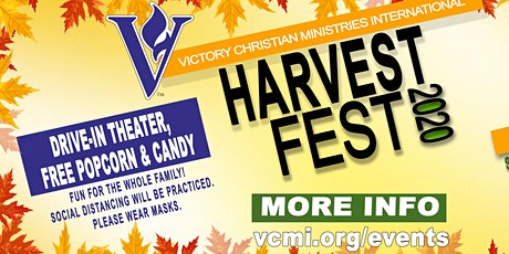 VCMI Harvest Festival - Drive In Movie tickets