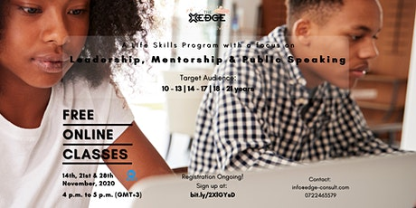 The Edge Life Skills Webinar tickets