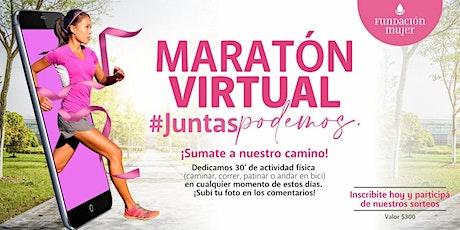 1° Maratón Solidaria Virtual - Fundación Mujer Santiago del Estero entradas