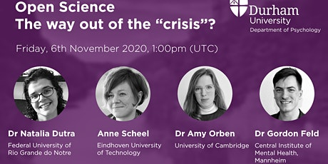 """Open Science – The way out of the """"crisis""""? tickets"""