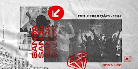 Culto Presencial 19h - 25/10/2020 ingressos