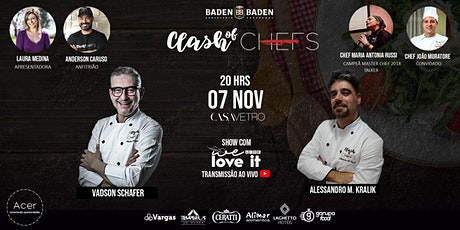 Clash of Chefs Casa Vetro ingressos