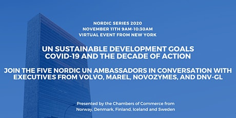 UN Sustainable Development Goals: COVID-19 and the Decade of Action tickets