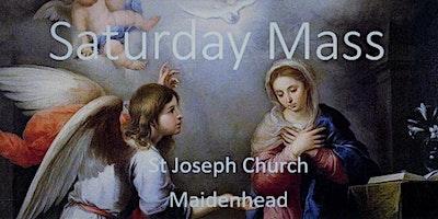Book Online: Saturday Evening Mass (St Joseph)