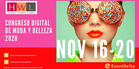 Congreso Digital de Moda y Belleza Internacional - Hispanic Women Leaders entradas