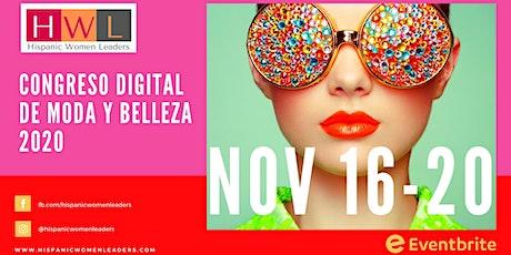 Congreso Digital de Moda y Belleza Internacional - Hispanic Women Leaders boletos