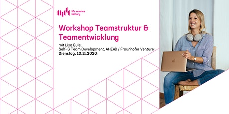 Workshop:Teamstruktur &  Teamentwicklung Tickets