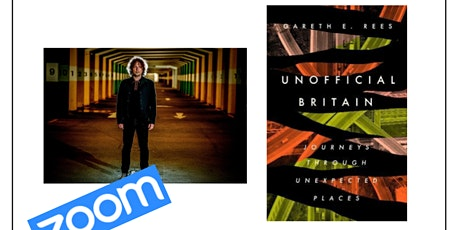 livestream: Unofficial Britain by Gareth E. Rees tickets