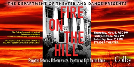 Fire on the Hill tickets