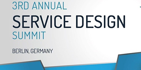 3rd Service Design Summit Tickets