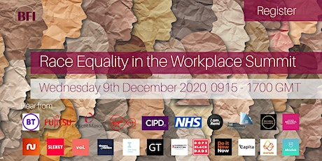 Race Equality in the Workplace Online Summit tickets