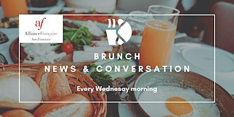 Brunch News & Conversations (Online) tickets
