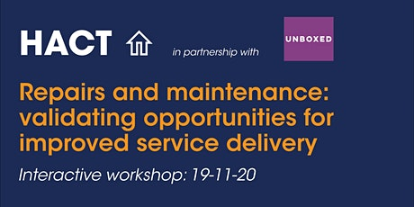 Repairs and maintenance: validating opportunities for improved services tickets