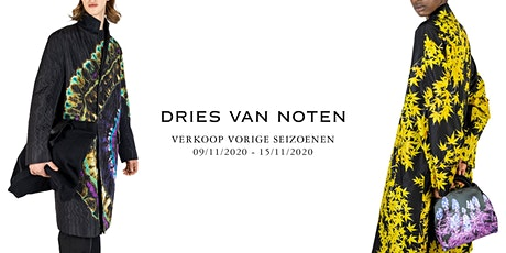 Sale Previous Seasons - Dries Van Noten tickets