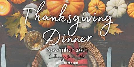 Thanksgiving Dinner tickets