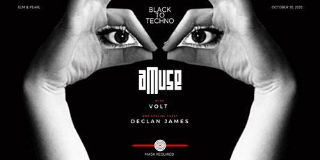 aMuse - Black To Techno : Declan James tickets