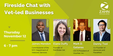 Virtual Fireside Chat w/ Vet-led Businesses tickets