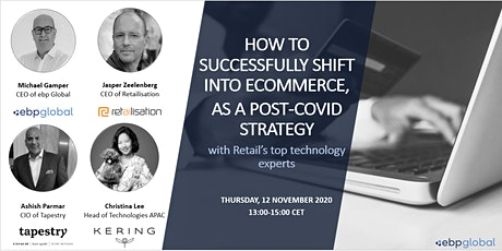How to successfully shift into ecommerce tickets