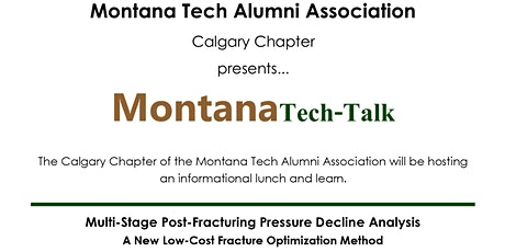 Montana Tech-Talk - Fall 2020 tickets