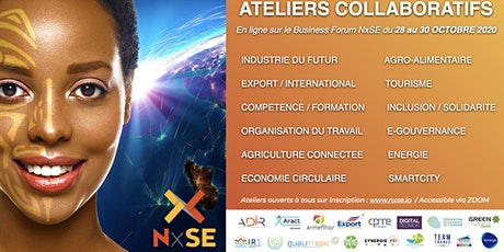 NxSE 2020, Edition Connectée : Programme des Workshops/Ateliers 28-30 Oct. tickets