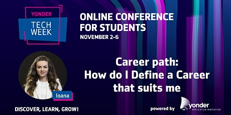 Career path:  How do I Define a Career that suits me tickets