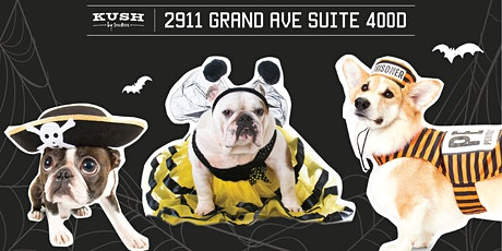 3rd Annual Halloween Yappy Hour at Kush by Spillover tickets
