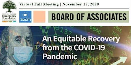 Virtual Fall 2020 LVCF Board of Associates Meeting and Awards Presentation tickets