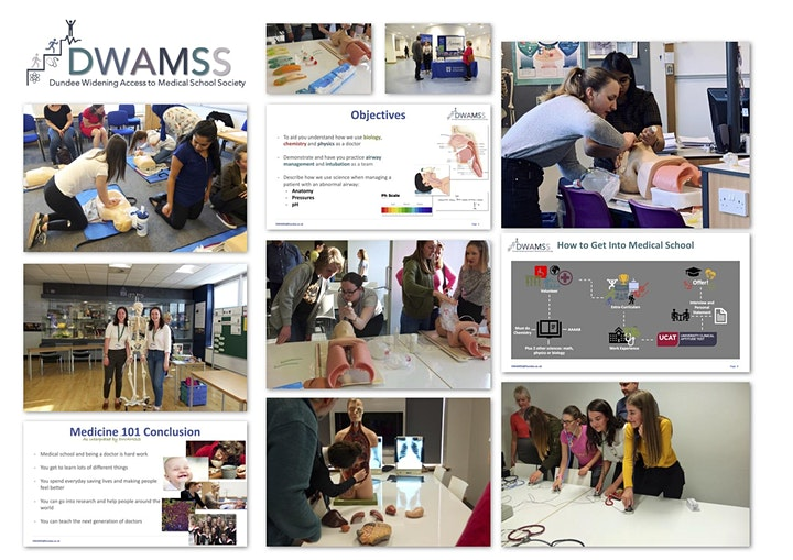 DWAMSS 'Chat with a Medical Student' Event image
