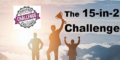 15-in-2 Challenge November 25th Wednesday tickets