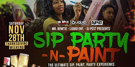 SIP  PARTY - N - PAINT tickets