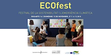 ECOFest , festival de la sostenibilitat i l'emergència climàtica-Granollers ingressos