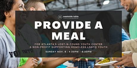 Provide A Meal with Lost-N-Found tickets