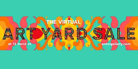 Virtual Art Yard Sale tickets