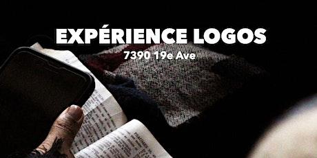 Experience Logos sur place billets