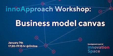 innoApproach: Business model canvas tickets