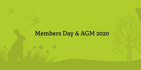 AGM & Members Day 2020 tickets