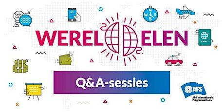 Online oriënterende gesprekken / AFS Werelddelen Online tickets