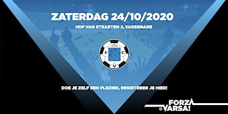 Matchday KFC Varsenare 24/10/2020 tickets