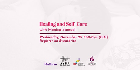 Healing and Self-care with With Monica Samuel tickets